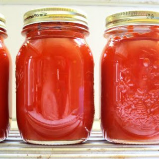Large Batch Tomato Sauce - pressure cooker.