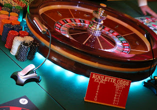 Photo: The BBF's Casino Night featured some gaming favorites, including roulette.
