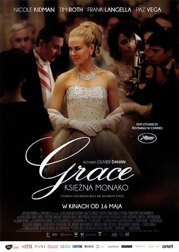 Przód ulotki filmu 'Grace Księżna Monako'