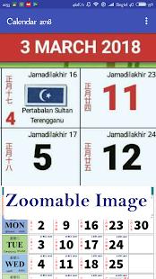Malaysia Calendar 2018/2019 HD - náhled