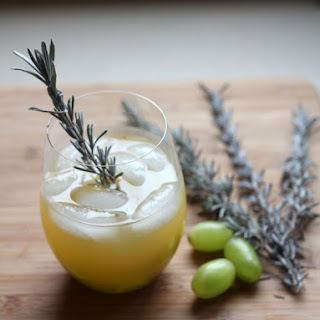 Pineapple Cilantro Sangria.