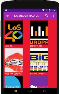RADIO ESPANA LA MEJOR - náhled