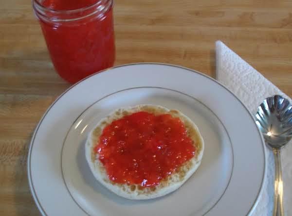 Rhubarb Jam With Fruit