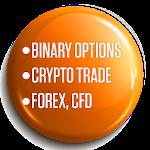 IQ Option: Bitcoin & Binary Options Trading Guide Icon