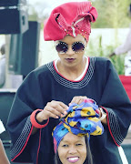 Thandi Mavata started a doek movement.