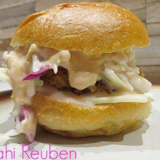 Mahi Reuben Sandwiches