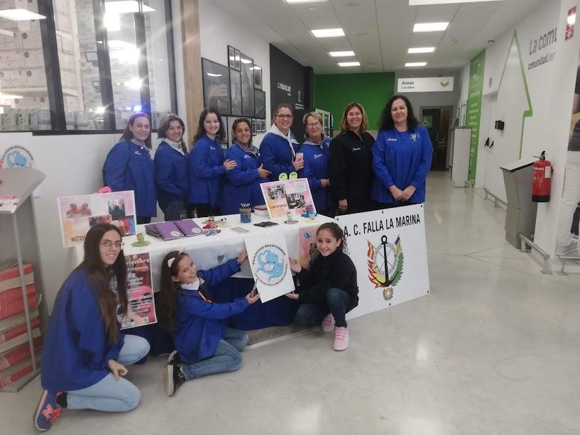 """A.C. Falla La Marina en """" Mercado Solidario"""" de Leroy Merlín Sagunto"""