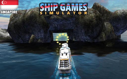 Code Triche Simulateur de jeux de navires bru00e9siliens APK MOD screenshots 3