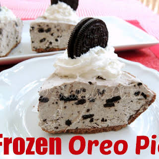 Frozen Oreo Pie.