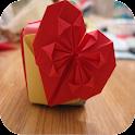 Tutoriels origami coeur icon