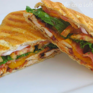 Grilled Chicken Panini Sandwich