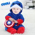 Baby Kid Superhero Costume and Frame Editor