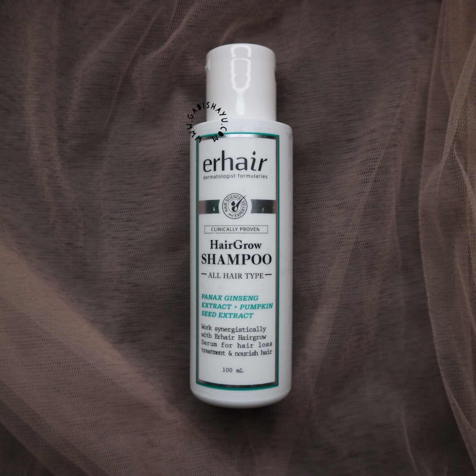 erhair hairgrow shampoo