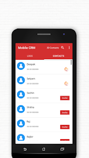 Mobile CRM - náhled
