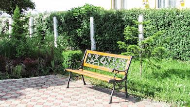 Photo: Bustul lui Mihai Viteazu Spatiul verde unde este amplasata lucrarea Comuna Mihai Viteazu, jud. Cluj - Str. Principala (2013.05.10)
