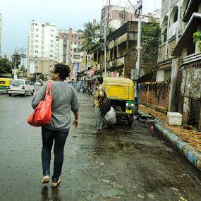 Busy Life by Sumita Mehera - People Street & Candids