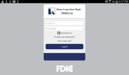 Home Loan State Bank MobilEdge- screenshot thumbnail