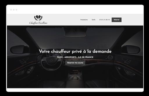 Créer un site de VTC