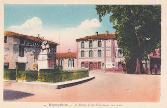 Photo: Nègrepelisse (82) - Carte colorisée
