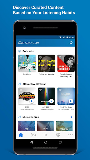 Radio.com Screenshot