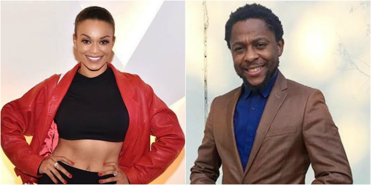 Pearl Thusi and Mbuyiseni Ndlozi were caught in a heated exchange of words on Twitter.