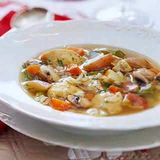 Chicken Vegetable Soup.