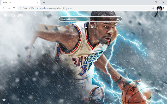 Kevin Durant HD Wallpapers New Tab