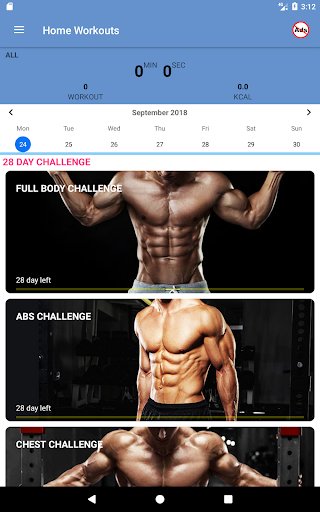 Home Workouts - No equipment - Lose Weight Trainer 18.61 Screenshots 9