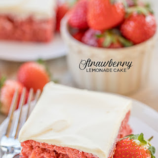 Strawberry Lemonade Cake.
