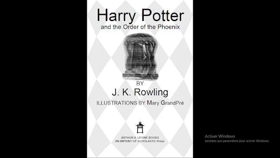 Harry Potter and the Order of the Phoenix - náhled