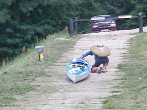 Photo: i jescze wózek szwankuje :(