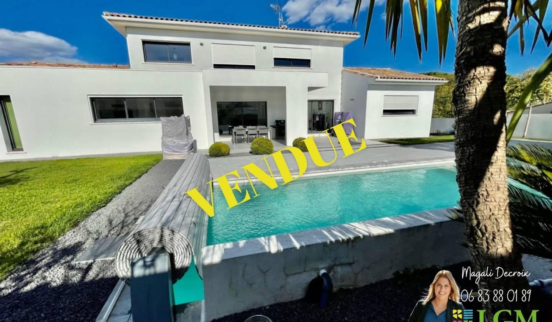 Villa avec piscine et terrasse Teyran