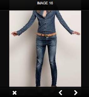 Denim Fashion Wear - náhled