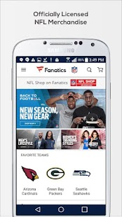 Fanatics NFL - náhled
