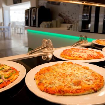 pizzas au restaurant buffet