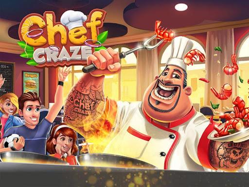 Code Triche Chef Craze : Restaurant Cooking Game APK MOD (Astuce) screenshots 1