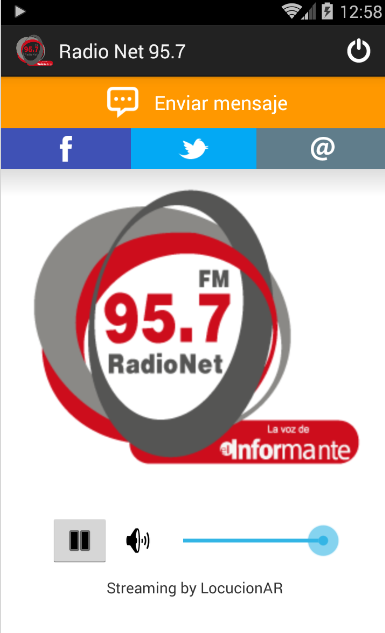 Radio Net 95.7- screenshot