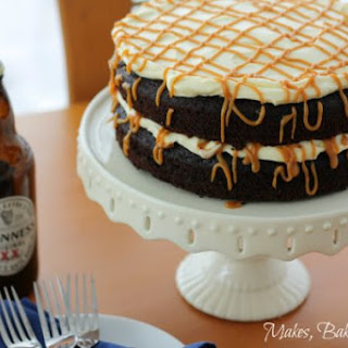 Guinness Chocolate Cake with Salted Caramel.