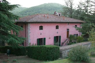 Photo: The rear of our villa in Chianti, Italy