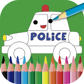 Kids painting & coloring game