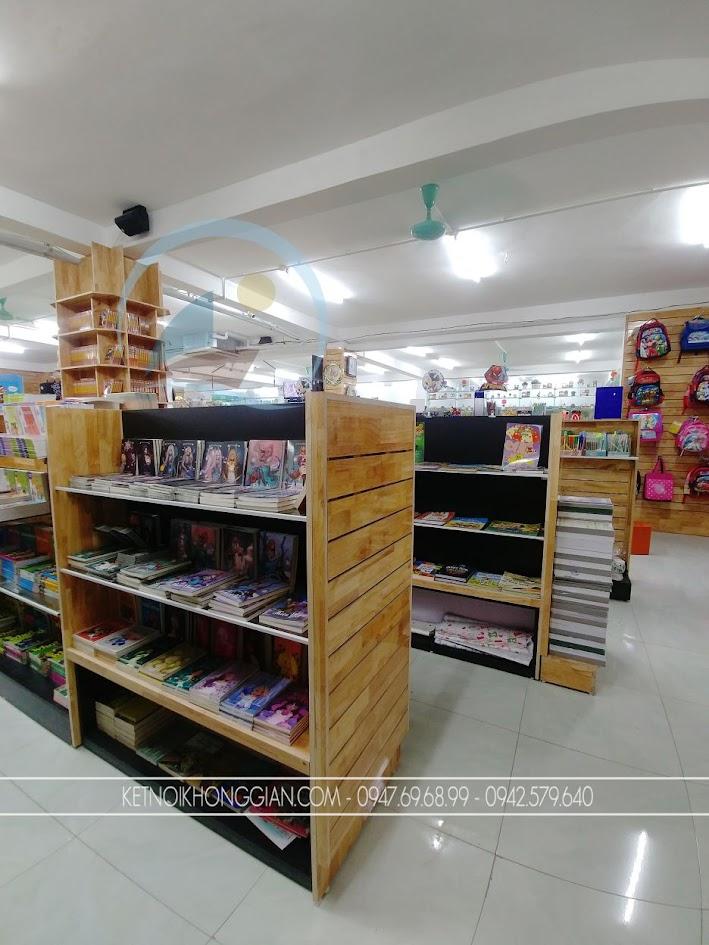 thiết kế thi công nội thất nhà sách Trí Đức 10