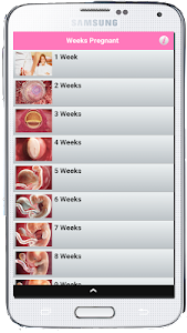 Weeks Pregnant screenshot 1