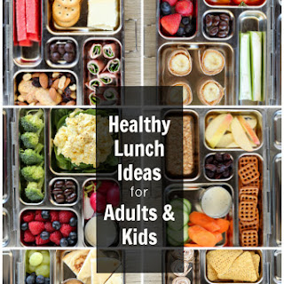 Healthy Lunch Ideas (for adults and kids).