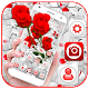 Red Rose Flower Cluster Theme Android apk