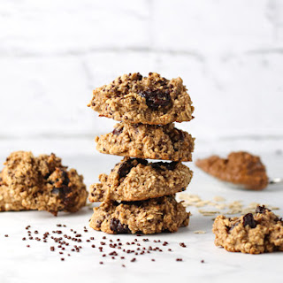 The Healthiest Peanut Butter Oatmeal Cookies.