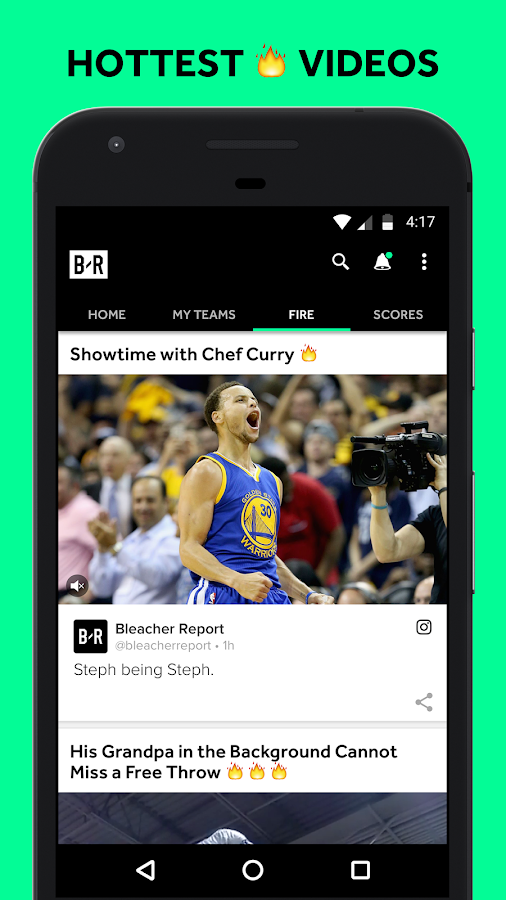 Bleacher Report- screenshot