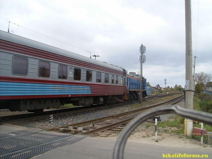 поезд Шаховская-Ржев