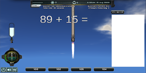 Intergalactic Addition Subtraction 1.0.3 screenshots 2