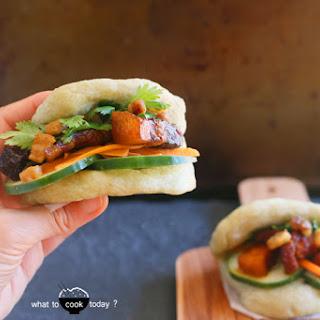 Caramelized Pork Belly Buns - 4 Servings