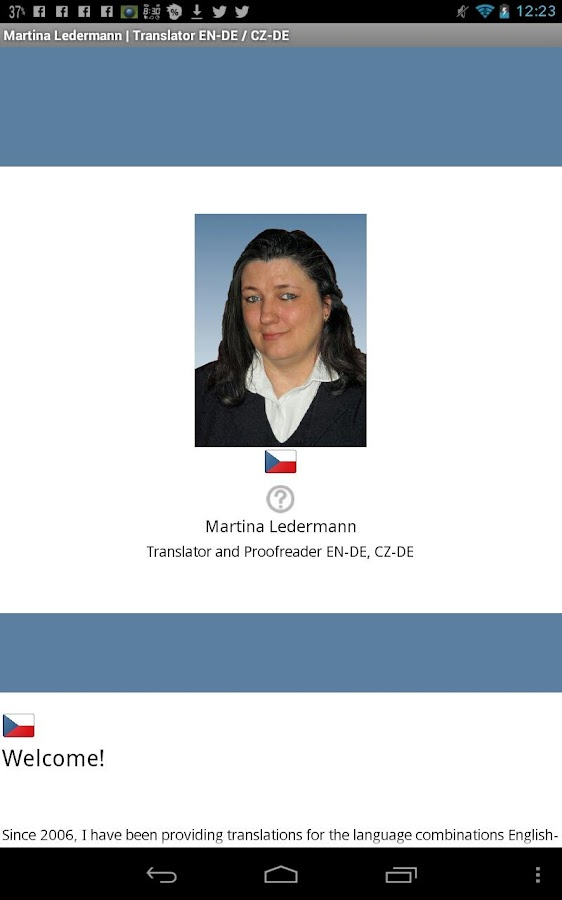 Martina Ledermann Translator- screenshot